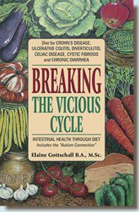 livre contre les mici, mici, maladie de crohn, rch, rectocolite hémoragique, colite ulcéreuse, maladie auto-immune, breaking the vicious cycle, régime en glucides spécifiques, scd, rgs
